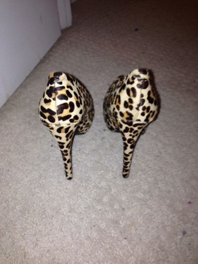 Kelsi Dagger Leopard Animal Print Cheetah Sexy Glam Multi Platforms