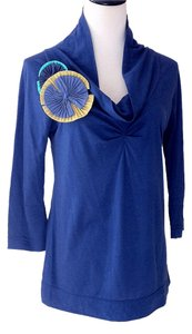 Anthropologie T Shirt Royal Blue