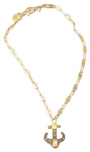 Juicy Couture Gold Anchor Necklace