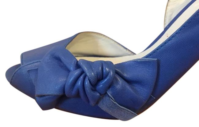 Item - Blue Bow Slingback Pumps Size US 10 Regular (M, B)