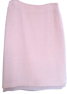 Banana Republic Cream Wool Skirt Winter White