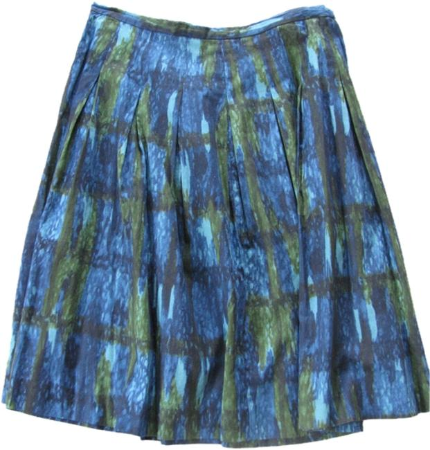 Talbots Skirt Green/Blue/Black Image 0