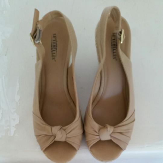 Seychelles Taupe Sandals Image 2