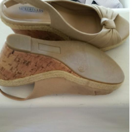 Seychelles Taupe Sandals Image 4