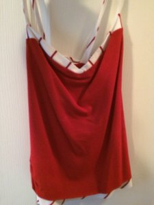 Allen Schwartz Top Red/White