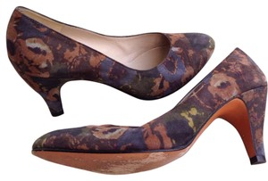 Salvatore Ferragamo Floral Pumps