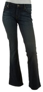 Chip and Pepper Flare Leg Jeans-Dark Rinse
