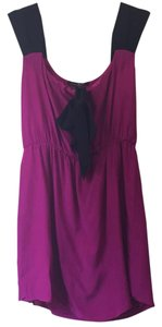 Central Park West short dress Purple, pink on Tradesy