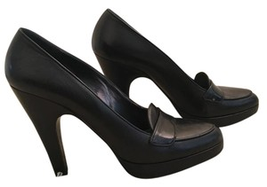 Prada Pumps Luxury Platform Black Platforms