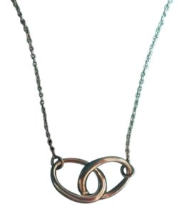 Tiffany & Co. Elsa Peretti Interlocking Ovals Necklace