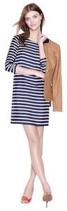 J.Crew short dress striped Stripe Silk on Tradesy
