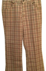 Levi's Trouser Pants Plaid