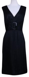 Alberta Ferretti Empire Silk Dress