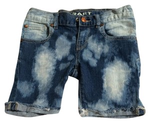 Other Kids Denim Shorts-Dark Rinse