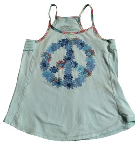 Justice Kids Top Light Blue