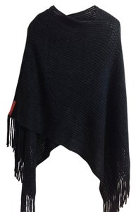Prada Prada wool sweater cape style scarf &wraps one size fits most