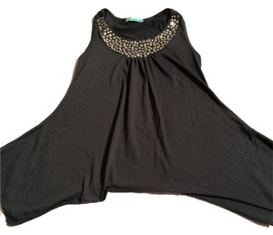 Other Kids Tunic Sparkly Top Charcoal