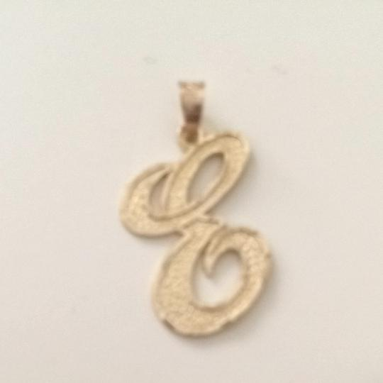 Other 10k Gold E Pendant
