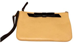 Kate Spade Tan & Black Clutch