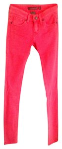 Reuse Skinny Pants Coral