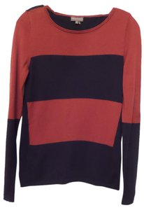 Vince Camuto Light No-itch Vegan Striped Stretchy Sweater