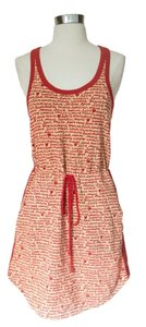 Marc by Marc Jacobs short dress Orange and Beige Red Racer-back Jumper on Tradesy