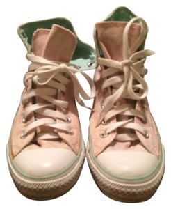 Chuck Taylor Pastel Pink & Mint Green Athletic