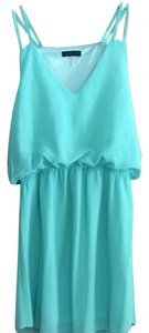 cals short dress Sea foam Green on Tradesy