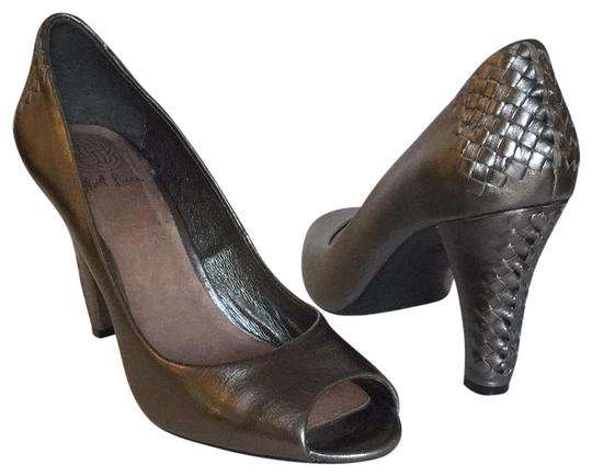 Elliott Lucca Gray pewter Pumps Image 0