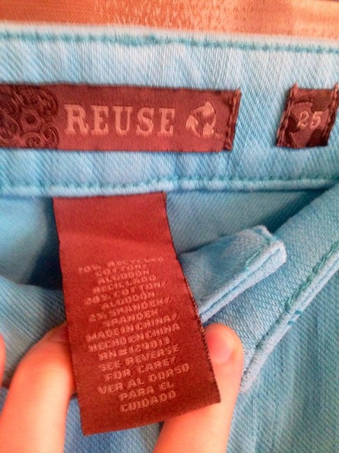 Reuse Skinny Pants Blue