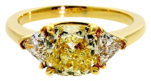 Cartier Cartier Fancy Intense Yellow Diamond Gold Ring 19k