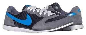 Nike Casual Sneaker Gray, blue Athletic