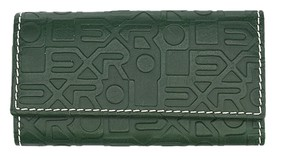 Rolex Rolex Green Embossed Leather Key Holder (31274)