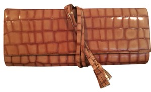 BCBGMAXAZRIA Tan Clutch