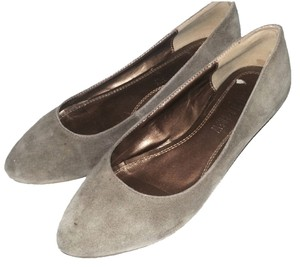 Chelsea Crew Anthropologie Suede Wedge Urban Outfitters Light Brown Flats