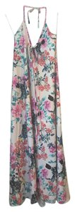 Yumi Kim Maxi Floral Silk Dress