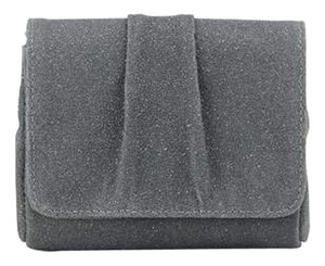 Lauren Merkin Leather Designer Handbags Gray Clutch