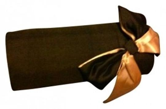 Estée Lauder Black and Gold Bow Clutch