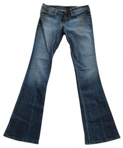 People's Liberation Irene19 Cut: Pl3268 Boot Cut Jeans-Dark Rinse