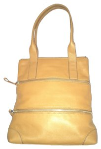 Fossil Tote in Saddle