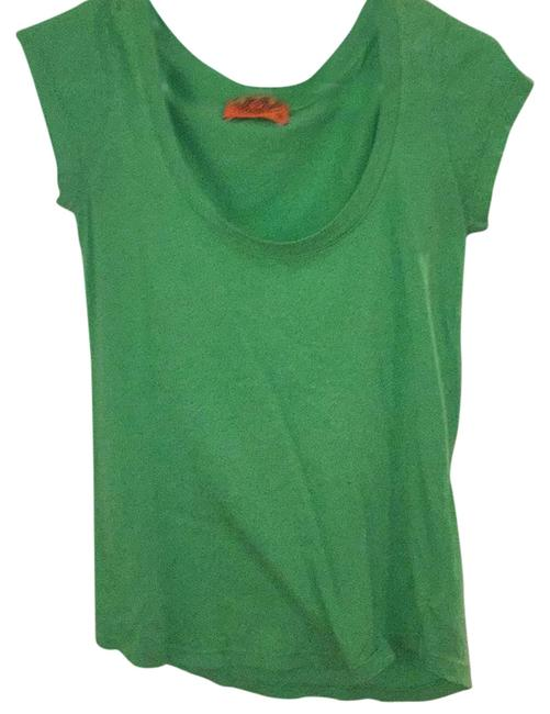Preload https://img-static.tradesy.com/item/18222055/juicy-couture-green-tee-shirt-size-4-s-0-1-650-650.jpg
