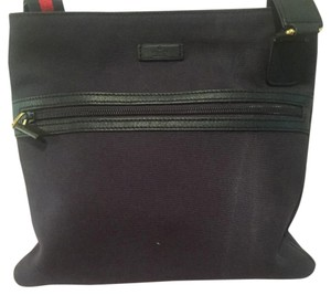 Gucci Navy Messenger Bag