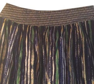 Anthropologie Skirt Blues and greens.