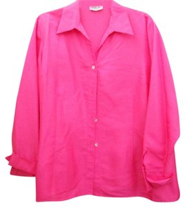 Robbie Bee Top Hot Pink