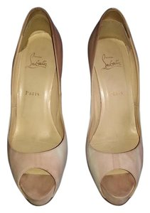 Christian Louboutin Pump Blend of white&pink&beige Pumps