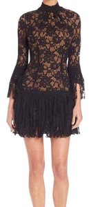 Alexis Lace Cocktail Fringe Tatiana Dress