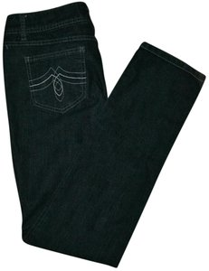 SO Size11 Straight Leg Jeans-Dark Rinse