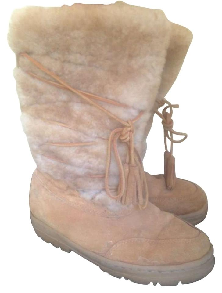 MISS J.Crew Price Tan Leather Shearling Boots/Booties Price J.Crew reduction b22fbc