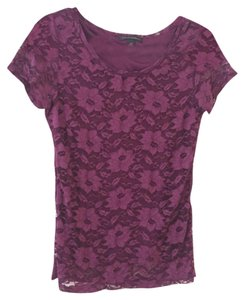 Banana Republic T Shirt Plum