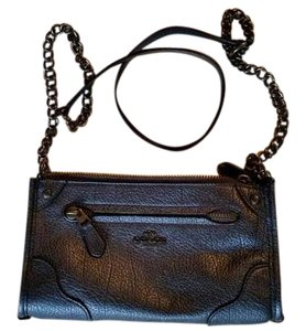 Coach Gunmetal Hardware Cross Body Bag